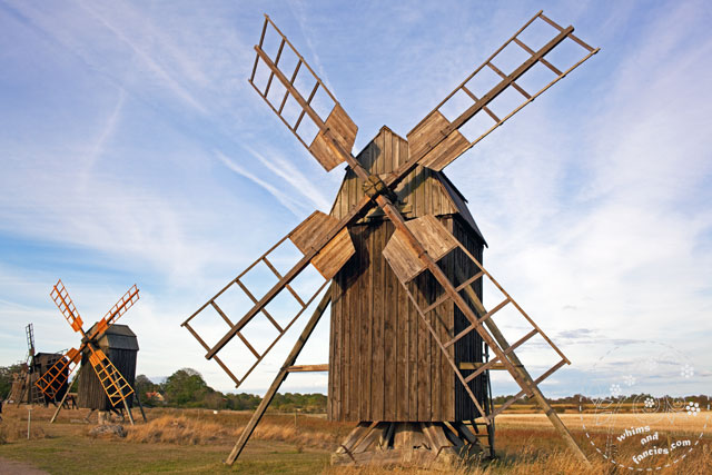 Lerkaka Windmill Sweden | Whims And Fancies