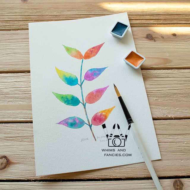 Learn to Watercolour At Inktorrents with Soma Acharya Whims And Fancies