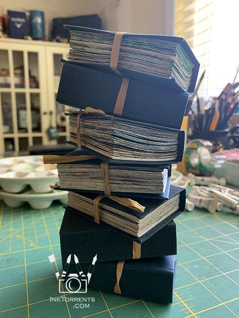 Little sketchbooks for painting @ InkTorrents.com by Soma