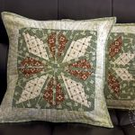 Aran Star Pillow