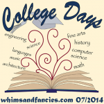 College Days Blog Hop In July