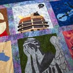 Doctor Who Quilt Top