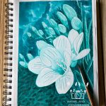 Flowers Of The Deep – Marabu Ink Review