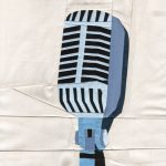 Announcing A New Group With Vintage Microphone