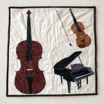 Piano Trio Wall Hanging