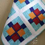 Squares Plus Quilt Remade