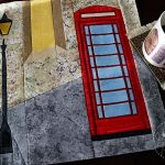 Red Telephone Box Travel Bag
