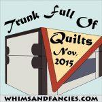 An Online Quilt Trunk Show