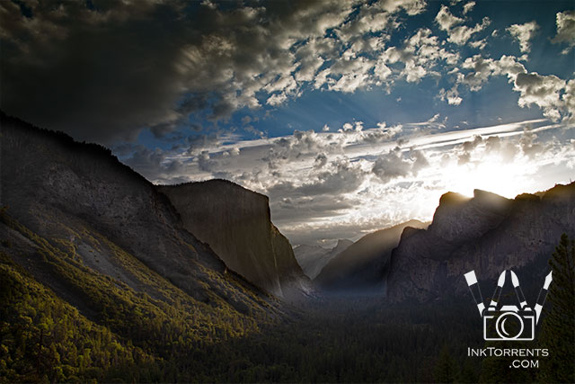 Valley View Sunrise In September Yosemite National Park @ InkTorrents.com by Soma