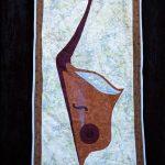 Vulcan Harp Wall Hanging